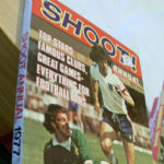 Football Shoot annual 1977 good unclipped price example spine intact